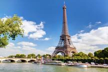 The Eiffel Tower, Paris most famous landmark