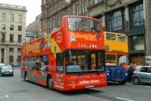 City Sightseeing Bus Tour in Edinburgh
