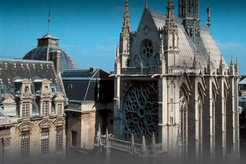 Sainte-Chapelle, Conciergerie y Panteón