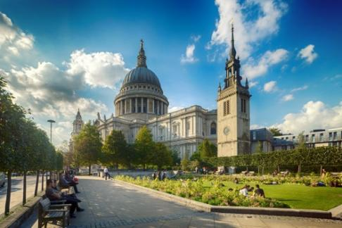 Image For St Paul's Cathedral + Tower of London