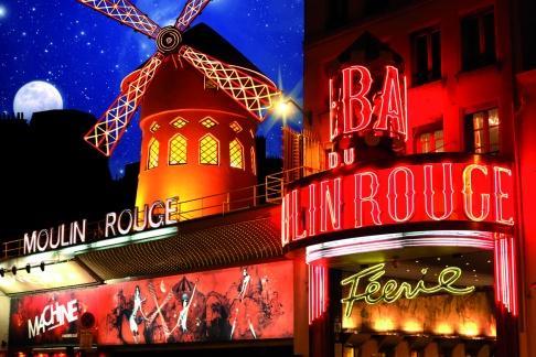 Entrada Torre Eiffel + Crucero con Cena + Moulin Rouge