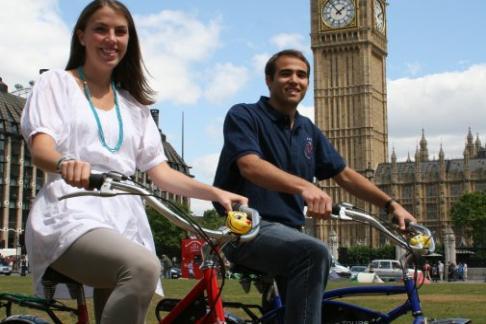 Fat Tire Bike Tours - River Thames Night Bike Tour