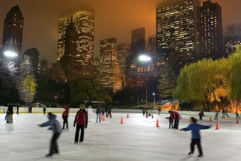 Click to view details and reviews for Eat Play Card Ice Skating At Wollman Rink In Central Park.