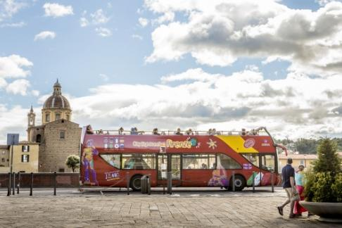 Click to view details and reviews for City Sightseeing Florence 48 Hour Hop On Hop Off Bus Leonardo Da Vinci Museum.