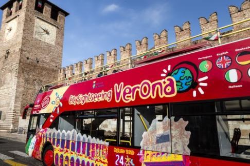 City Sightseeing Verona Hop On Hop Off Tour