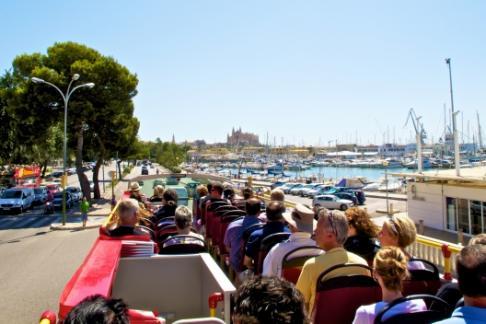 bus turistico Palma Mallorca