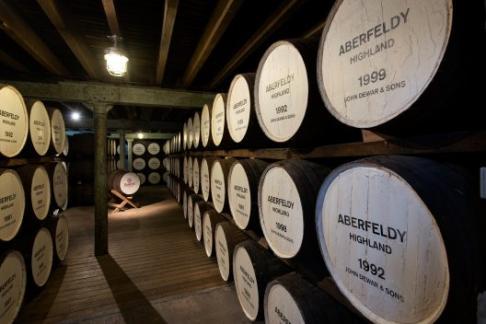 Dewars Aberfeldy Distillery Connoisseur Tour