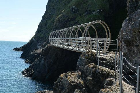 Click to view details and reviews for The Gobbins Cliff Path Titanic Belfast.