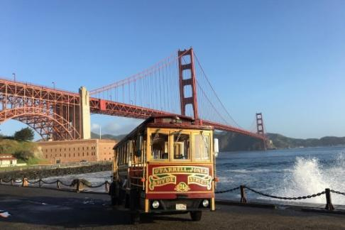 Click to view details and reviews for Hornblower Classic Cable Cars San Francisco Experience City Tour.
