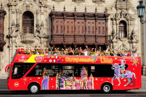 Click to view details and reviews for City Sightseeing Lima At Night Fountains Tour.
