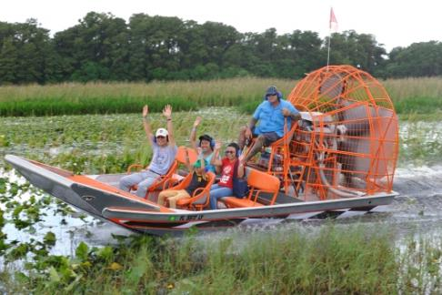 Click to view details and reviews for Boggy Creek Airboat Rides Night Expedition 1 Hour Tour.