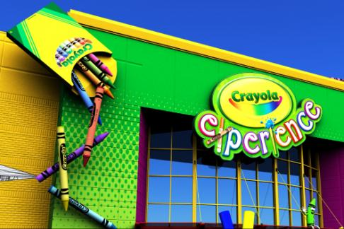 The Crayola Experience + Kids Eat Free Card Orlando