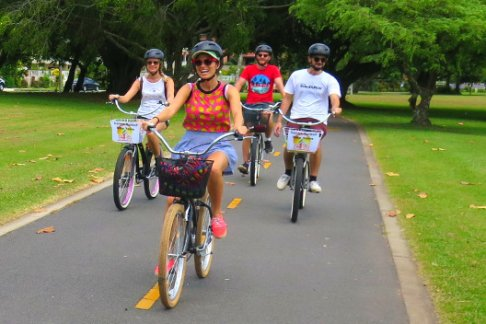 Click to view details and reviews for Cruising Cairns Bike Tour Cairns Morning Bike Tour.