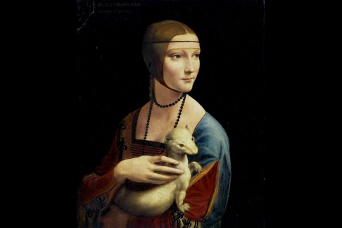 Leonardo Da Vinci Lady With An Ermine Dama Z Gronostajem