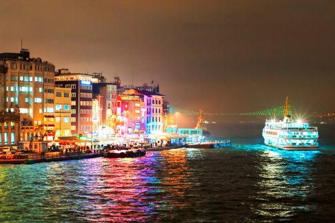 Bosphorus Dinner Cruise With Turkish Night Show Soft Drinks