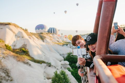 Click to view details and reviews for Hot Air Balloon Flight Over The Fairy Chimneys In Cappadocia.