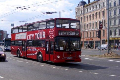 Riga Sightseeing Bus Tour