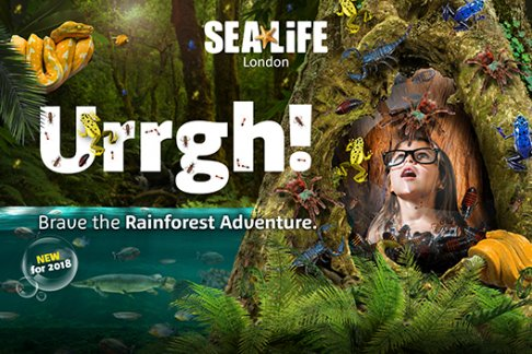 Click to view details and reviews for Sea Life London Aquarium Standard Ticket Mobile Entry.
