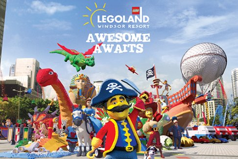 Legoland® Windsor 2 Day Ticket