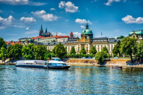 Click to view details and reviews for Prague Boats 1 Hour Devils Channel Cruise.