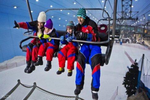 Ski Dubai: Polar Pass – Acceso al Parque y Atracciones