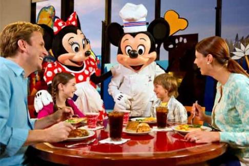 Disney Limousine Character Breakfast Offers Discounts
