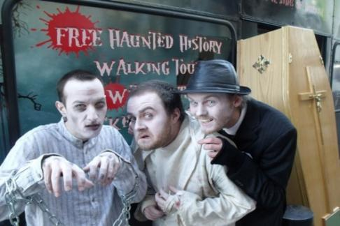 The Gravedigger Ghost Tour