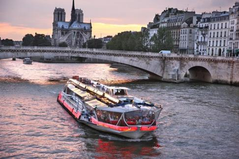 Image For Bateaux Mouches - Sightseeing Cruise + Paris Story