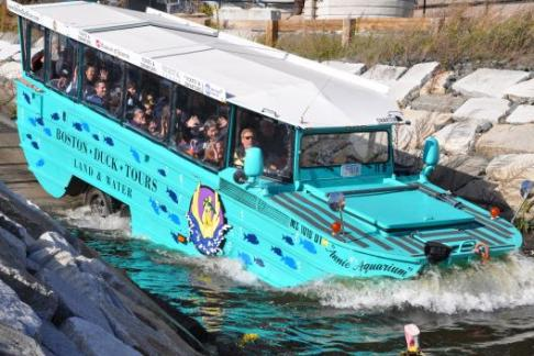 Boston Duck Tours - 80 Minute Tour from New England Aquarium