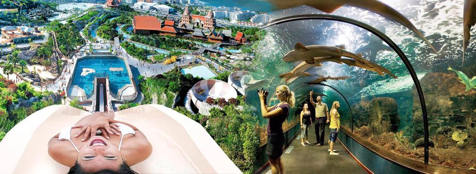 Teneriffa Loro Parque & Siam Park