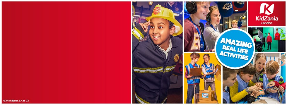 KidZania London - Kids Go Half Price