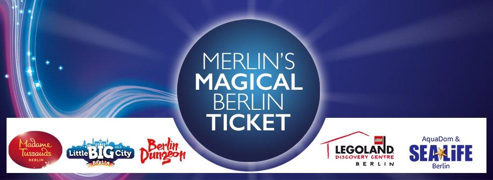 Merlin's Magical Berlin Berlin Kombi-Tickets für 2, 3, 4 oder 5 Attraktionen