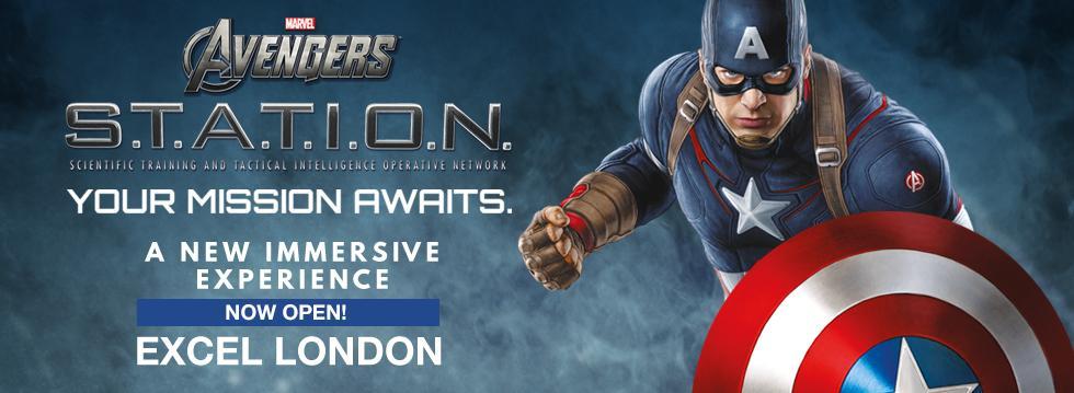 Marvel Avengers STATION Tickets London